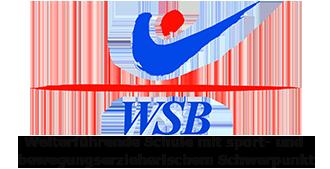 Logo WSB - Weiterführende Schule mit bewegungserzieherischen Schwerpunkt