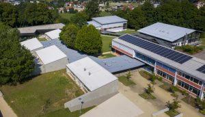Luftbild gesamtes Gelände der Sonnenlugerschule