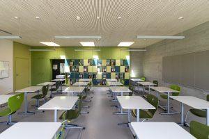 Klassenzimmer im Lernhaus