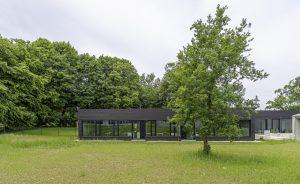 Lernhaus von Außen