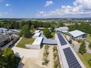 Luftaufnahme Sonnenlugerschule