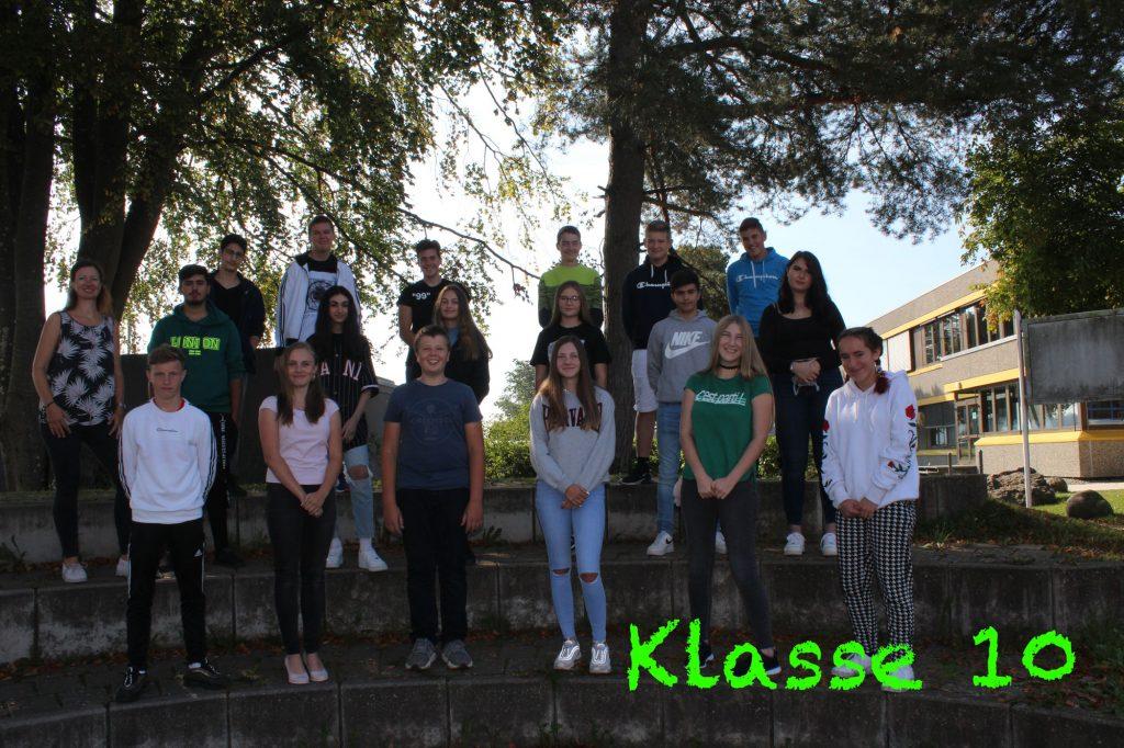 Foto Klasse 10 2020-2021