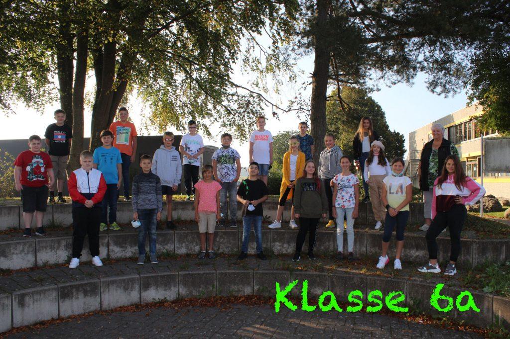 Foto Klasse 6a 2020-2021