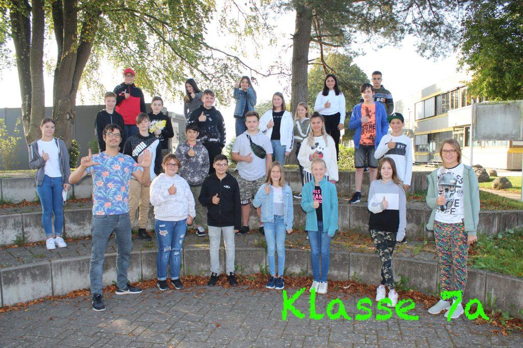 Foto Klasse 7a 2020-2021