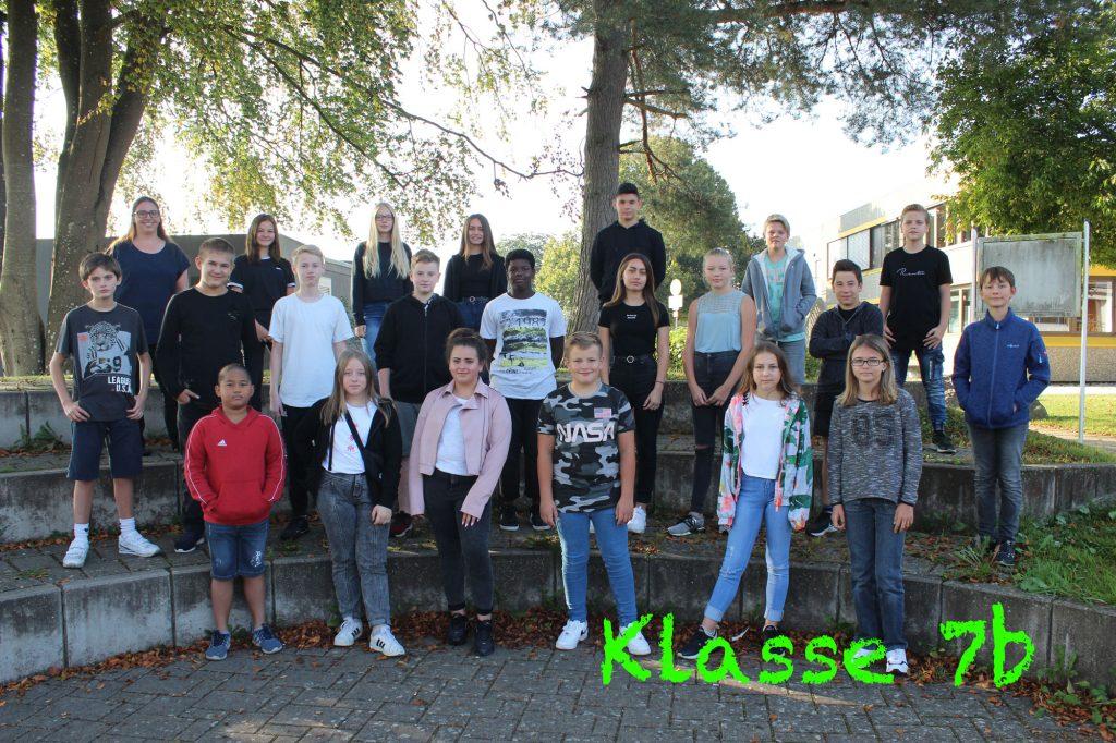 Foto Klasse 7b 2020-2021