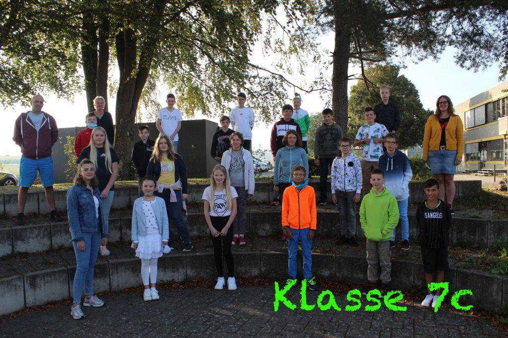 Foto Klasse 7c 2020-2021