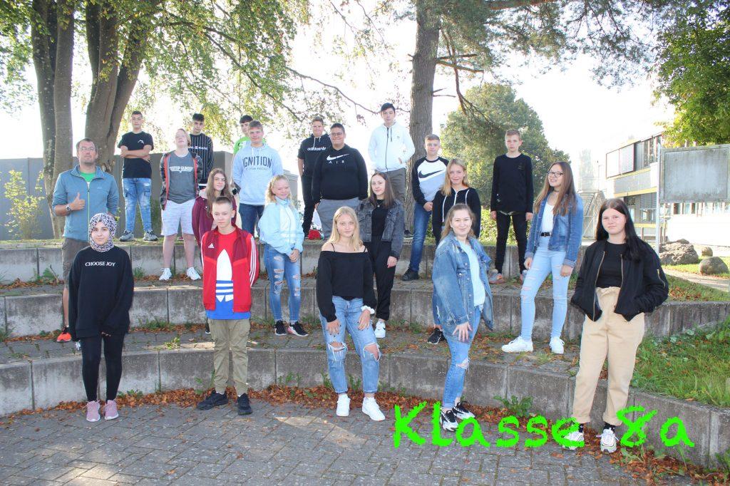 Foto Klasse 8a 2020-2021