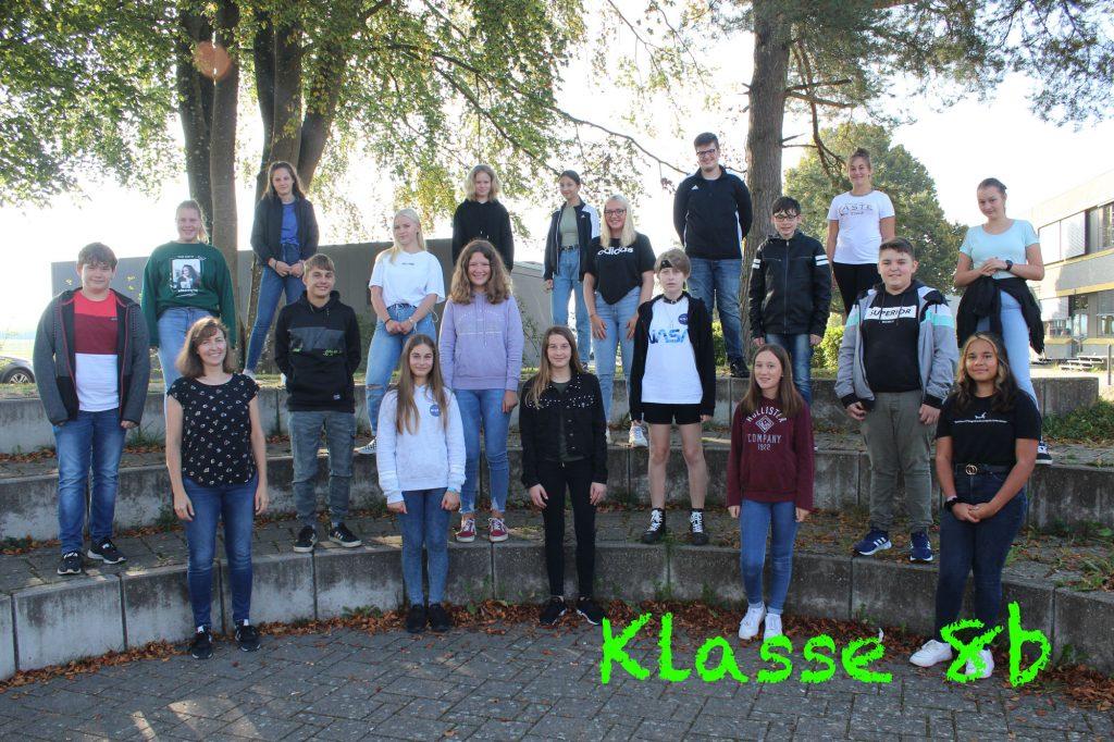 Foto Klasse 8b 2020-2021